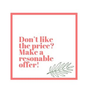 🌴Don't like the price? Make a reasonable offer.
